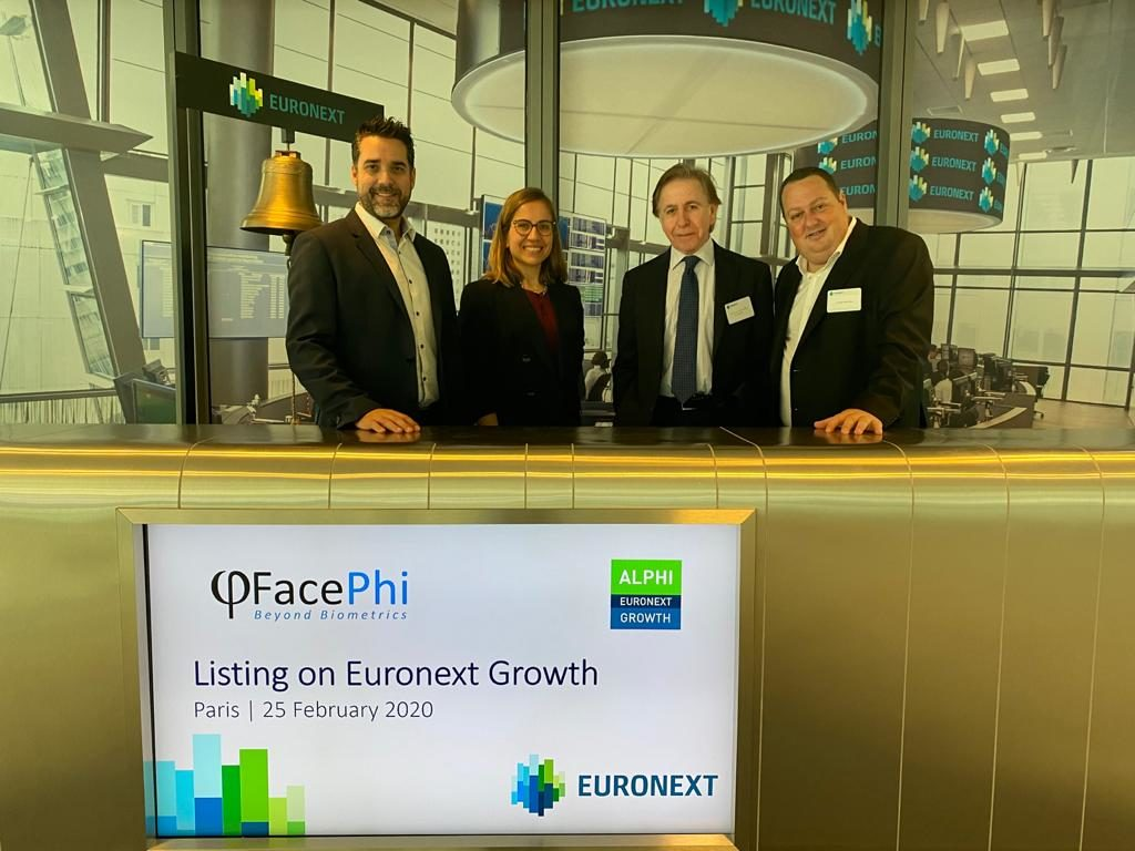 Facephi & Fellow Funders at EURONEXT